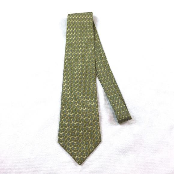 30c0037c6adb Hermes Accessories | Paris Tie 59 Ea Silk Chain Link Pattern | Poshmark